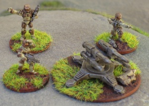 ARC Fleet miniatures from Critical Mass Games