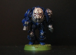 Rogue Trader era Space Marine Librarian in Terminator Armour