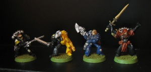Rogue Trader era Space Marines