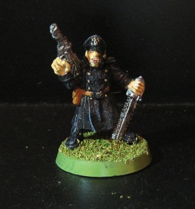 Rogue Trader era Imperial Guard Commissar