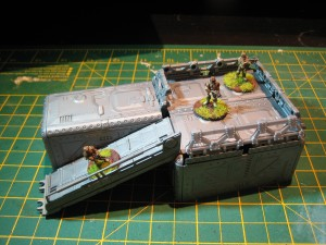 15mm building made from the Urban Mammoth Platform Builder