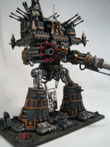Letem Eminus (Ruin From Afar): Warmonger Titan of the Legio Pantera (Black Panthers Legion)